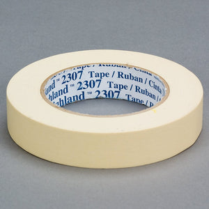3M Masking Tape 2307 Tan 72 mm x 55 m 12 per case