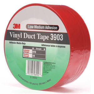 "3M Vinyl Duct Tape 3903 Red 2"" x 50 yd 24 per case"