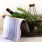 Oval Wire Baskets with Wood Handles http://www.napavalleyhomeandgarden.com/products/chalkboard-and-basket
