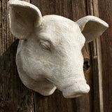 Pig Head Wall Hanging http://www.napavalleyhomeandgarden.com/products/hog-head