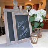 Rustic Farmhouse Chalkboards Set of 2 http://www.napavalleyhomeandgarden.com/products/rustic-farmhouse-chalkboards-set-of-2