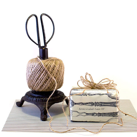 Cast Iron Stand with Twine http://www.napavalleyhomeandgarden.com/products/twine-holder
