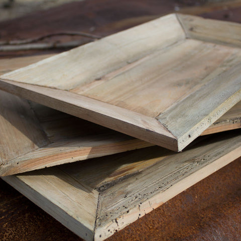 Reclaimed Wood Serving Trays http://www.napavalleyhomeandgarden.com/products/wooden-trays