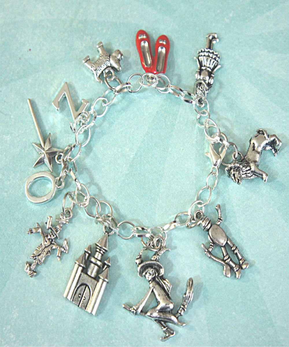The Wizard of Oz Inspired Charm Bracelet - Jillicious charms and accessories - 3