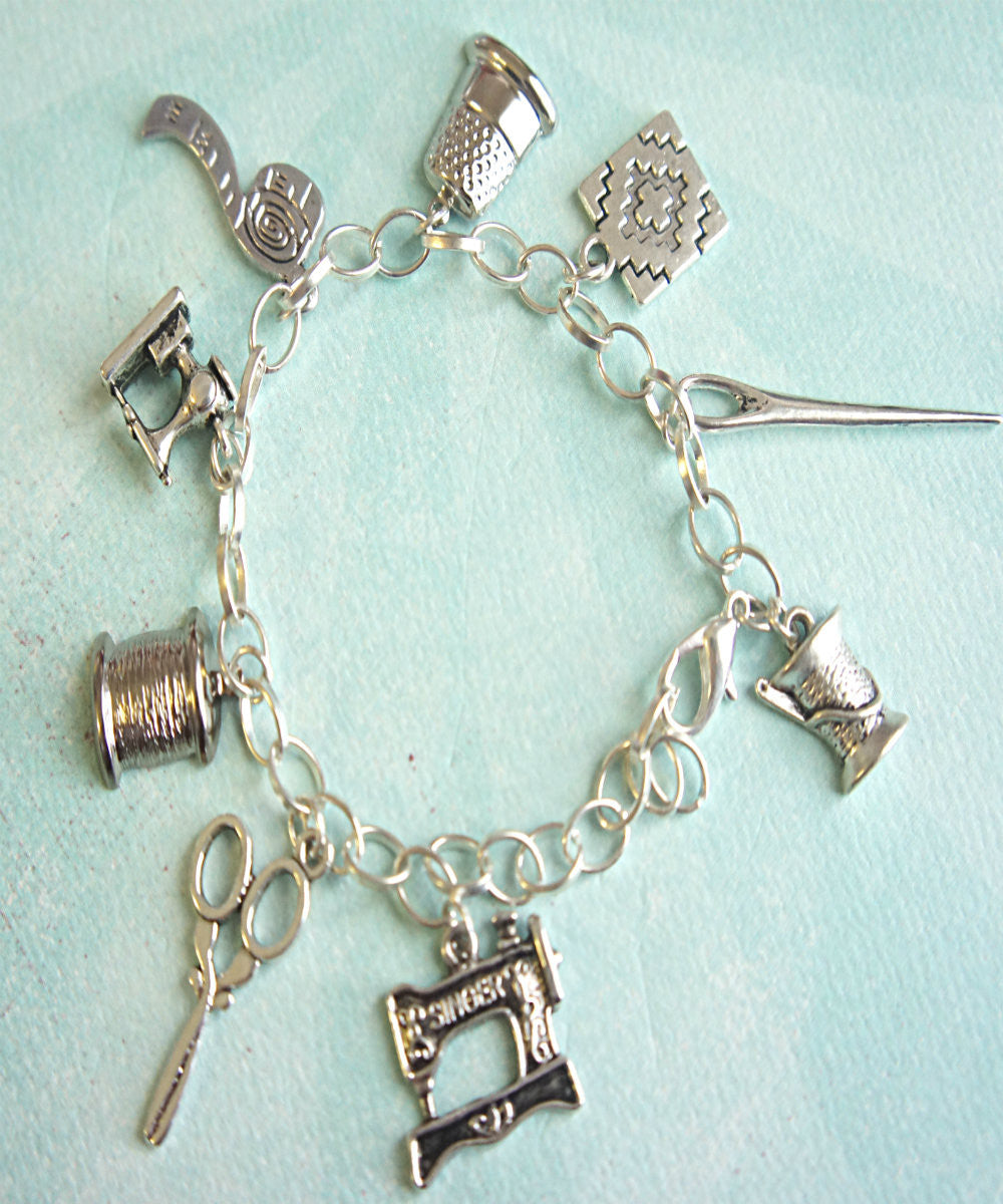 Sewer's Charm Bracelet - Jillicious charms and accessories - 1