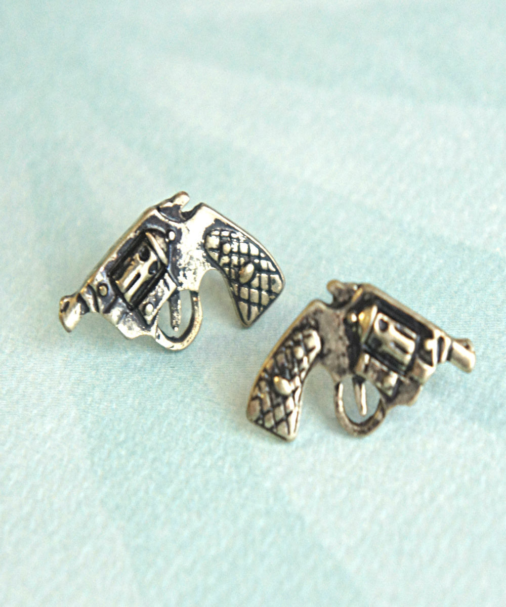 pistol earrings - Jillicious charms and accessories - 3