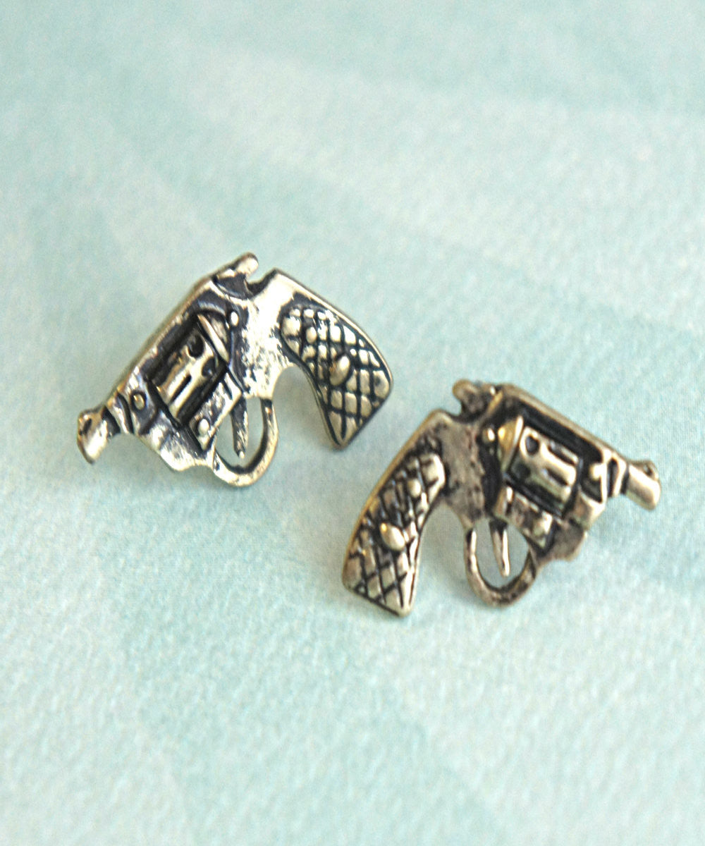 pistol earrings - Jillicious charms and accessories - 2
