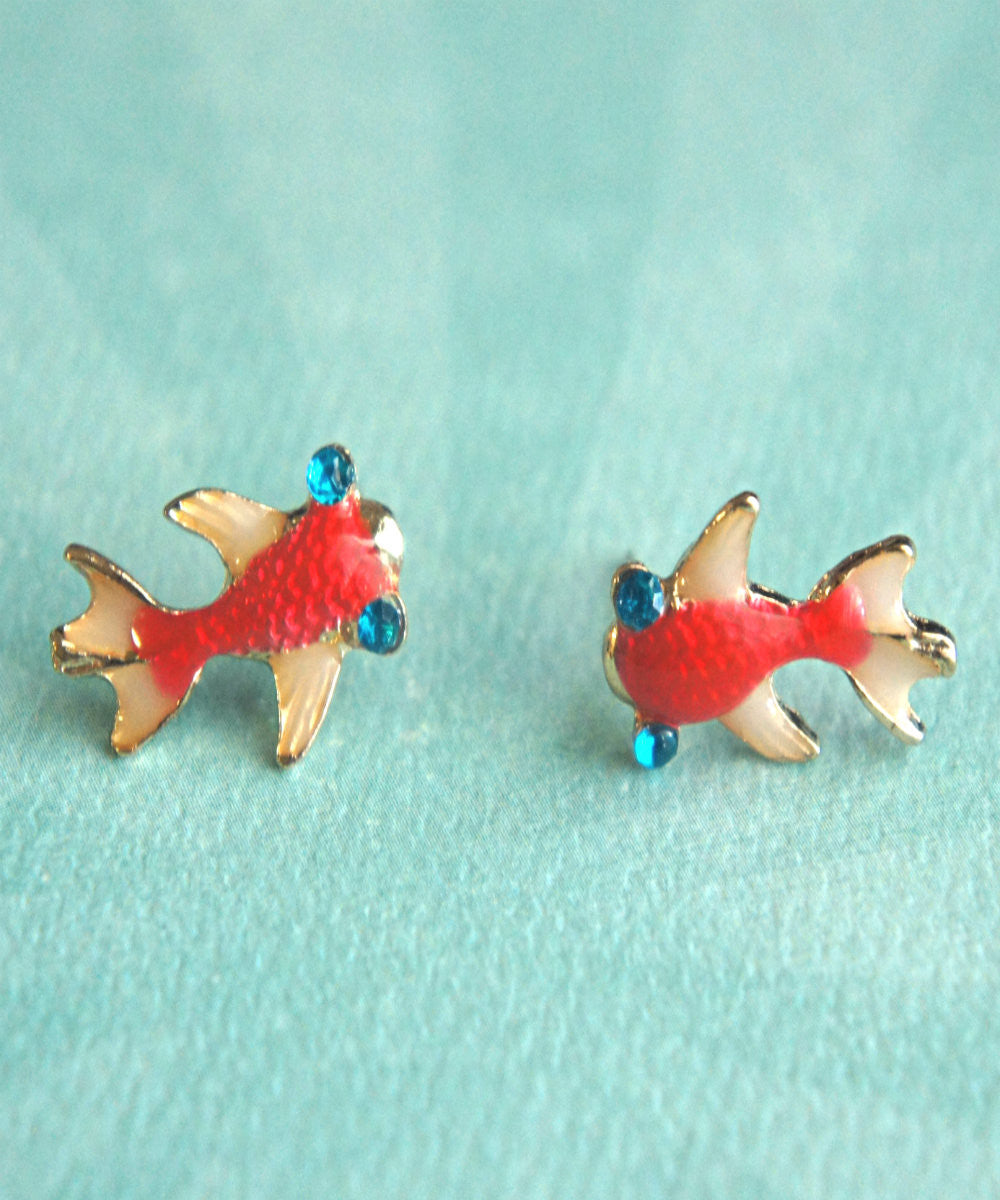 Koi Fish Earrings - Jillicious charms and accessories - 4