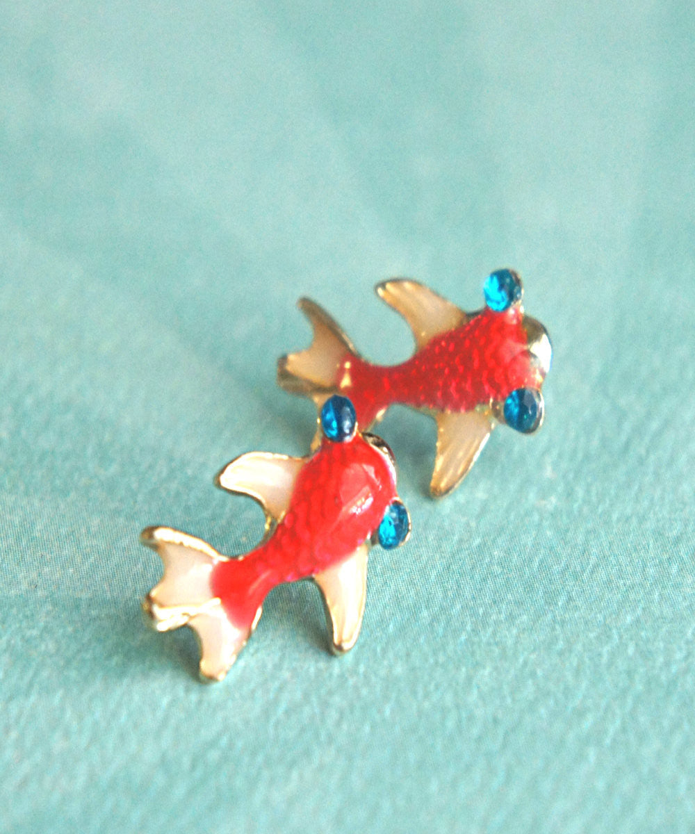 Koi Fish Earrings - Jillicious charms and accessories - 3