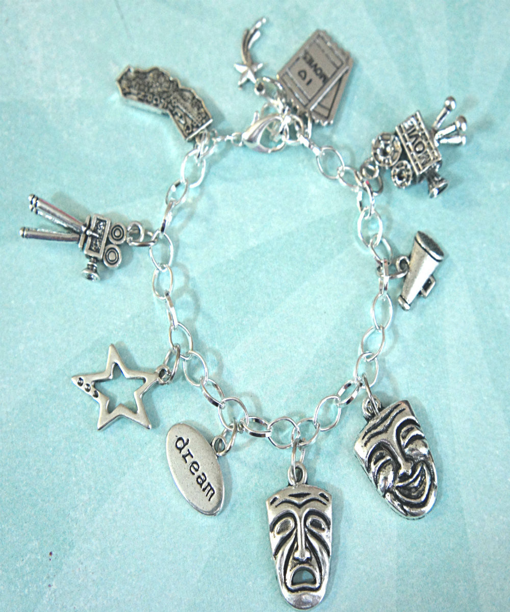 Theater Actor Charm Bracelet - Jillicious charms and accessories - 4