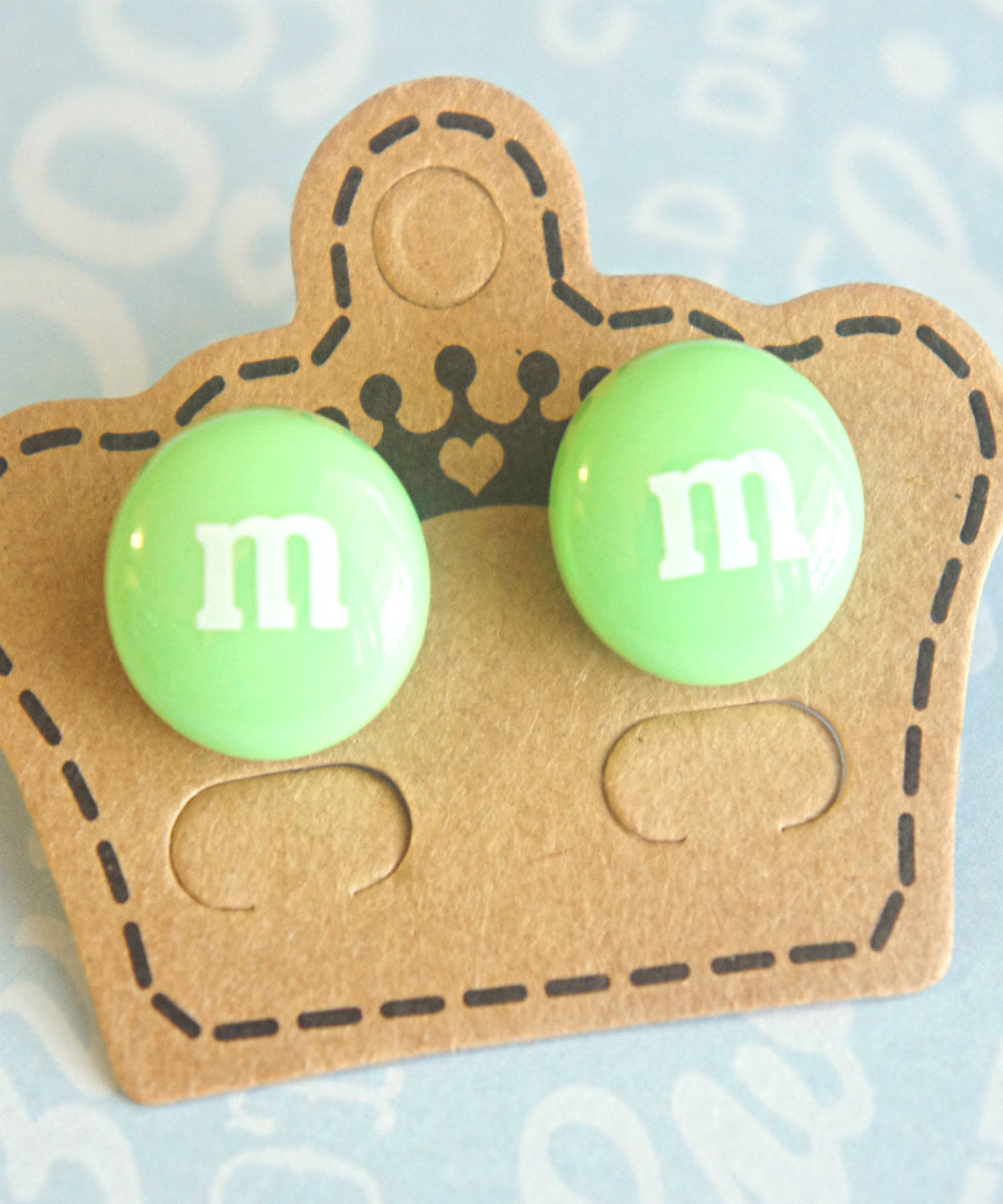 M&m's Candy Stud Earrings - Jillicious charms and accessories - 2