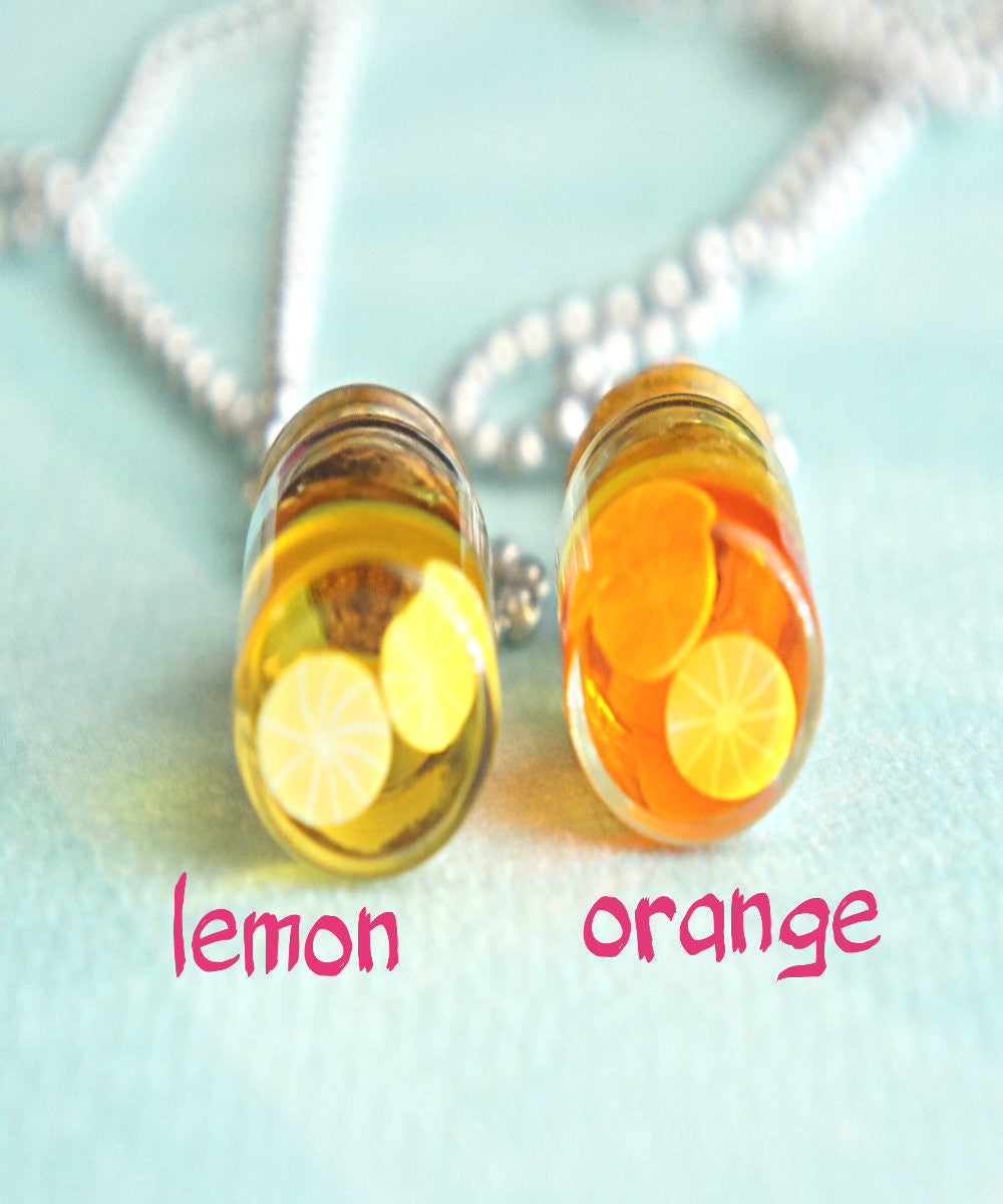 fruit juice necklace - Jillicious charms and accessories - 1