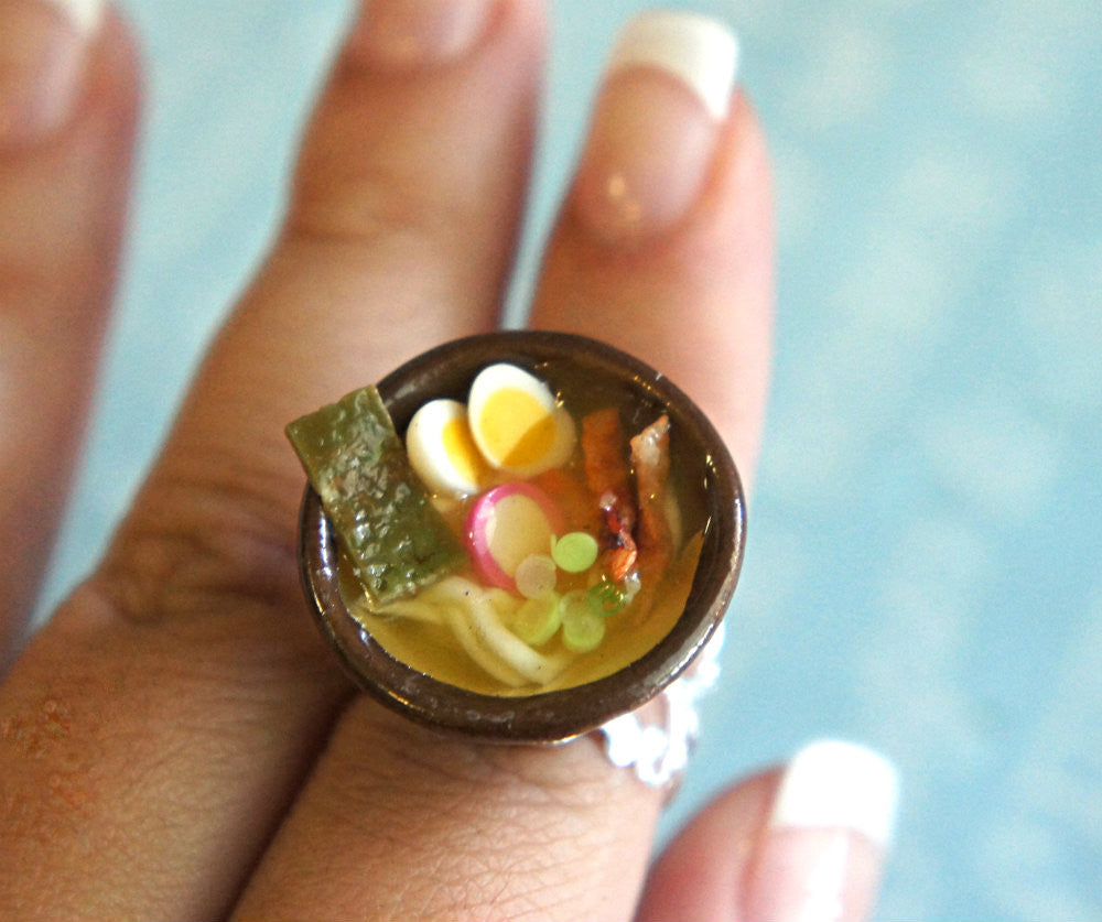 Ramen Noodles Ring - Jillicious charms and accessories