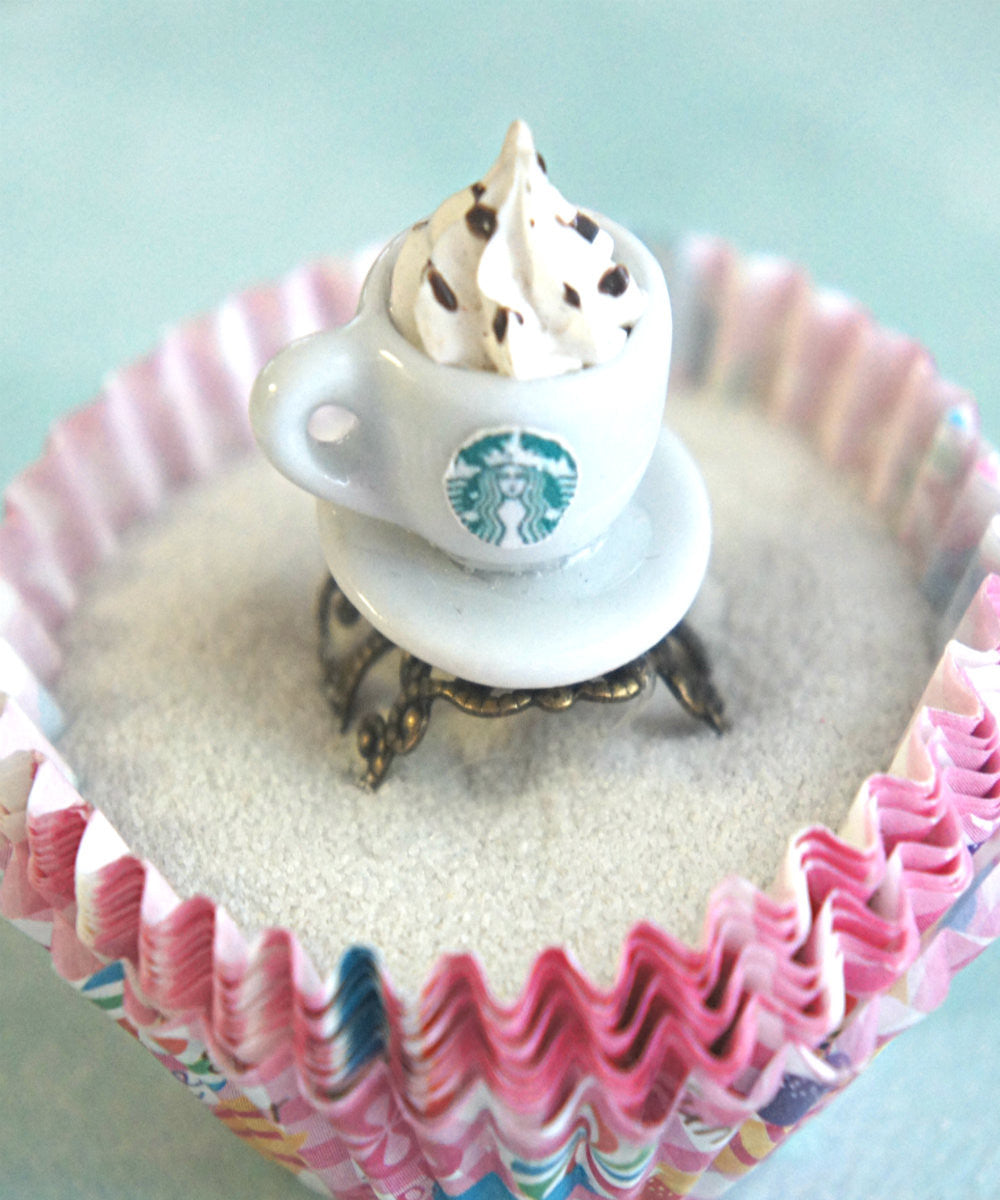 Starbucks Coffee Ring - Jillicious charms and accessories - 1