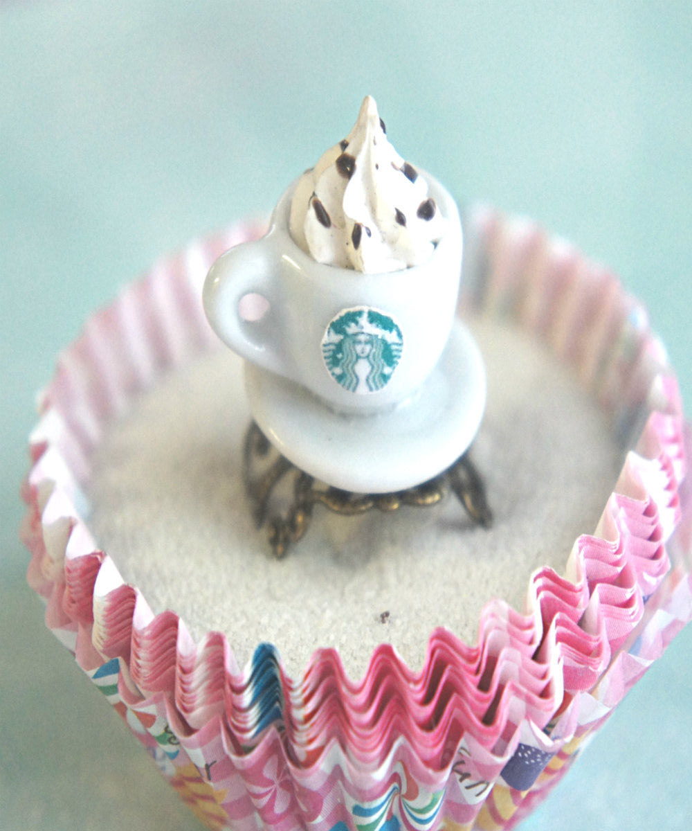 Starbucks Coffee Ring - Jillicious charms and accessories - 3