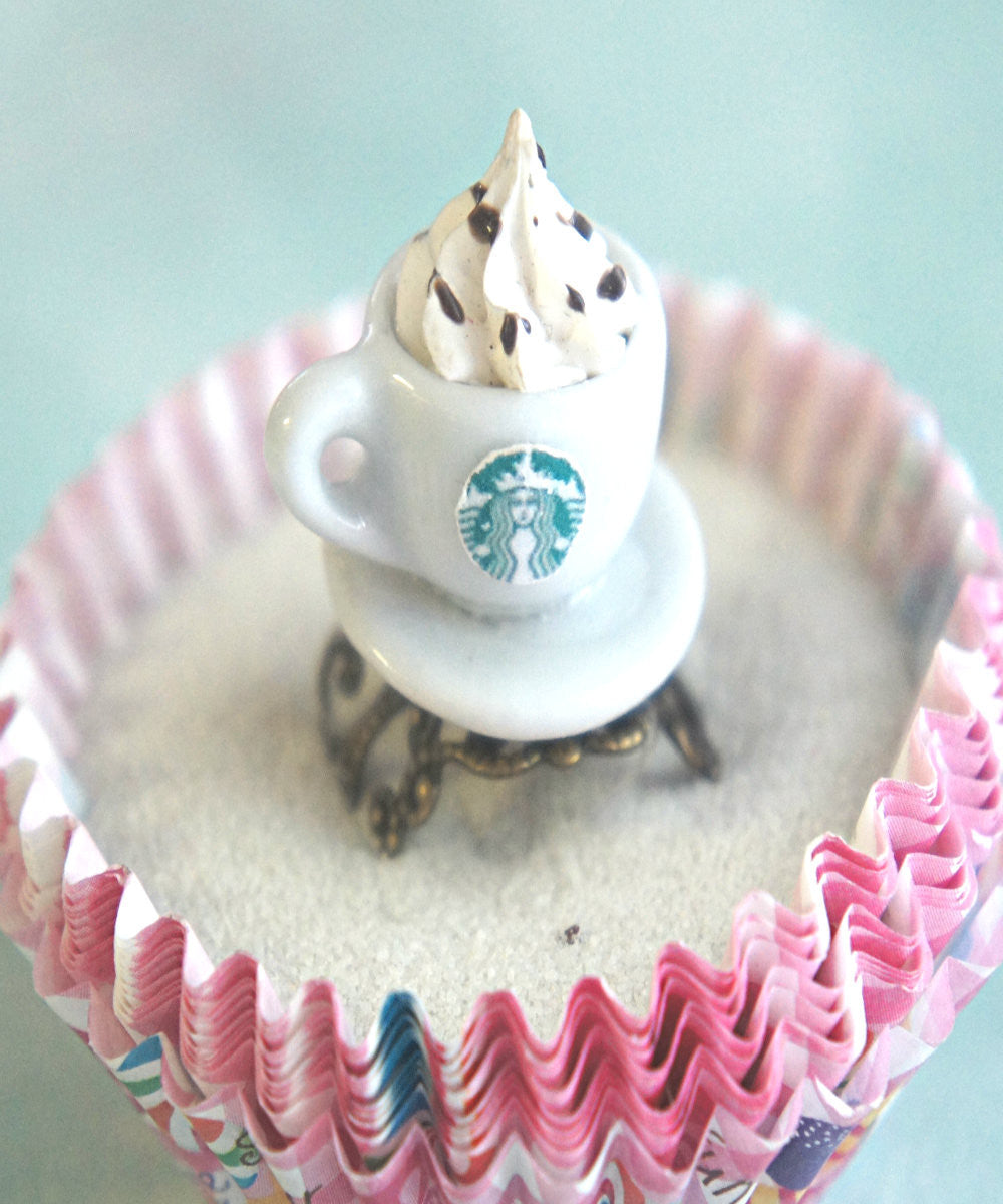 Starbucks Coffee Ring - Jillicious charms and accessories - 2