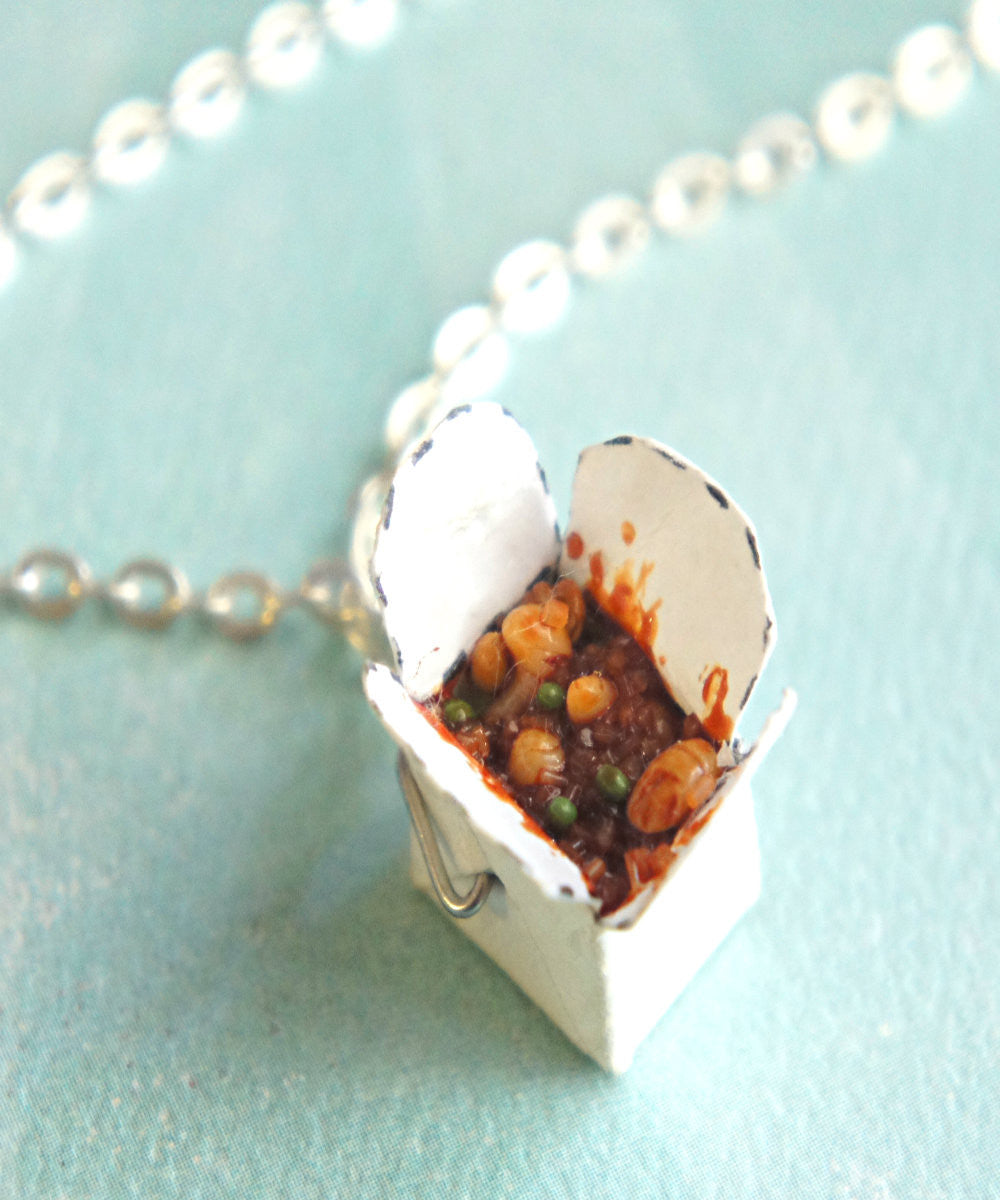 chinese food take out box necklace - Jillicious charms and accessories - 4