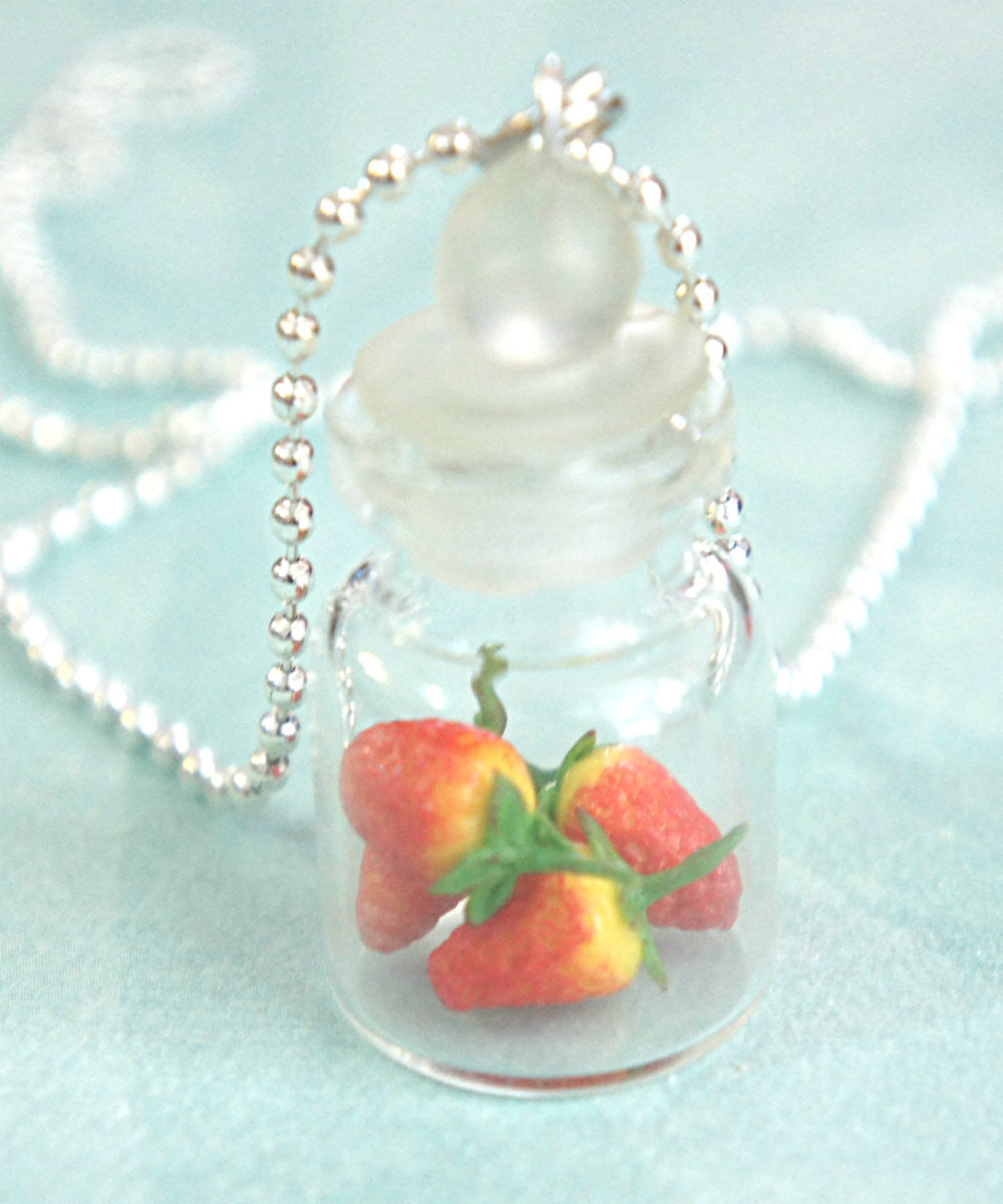 Strawberries in a Jar Necklace - Jillicious charms and accessories - 2