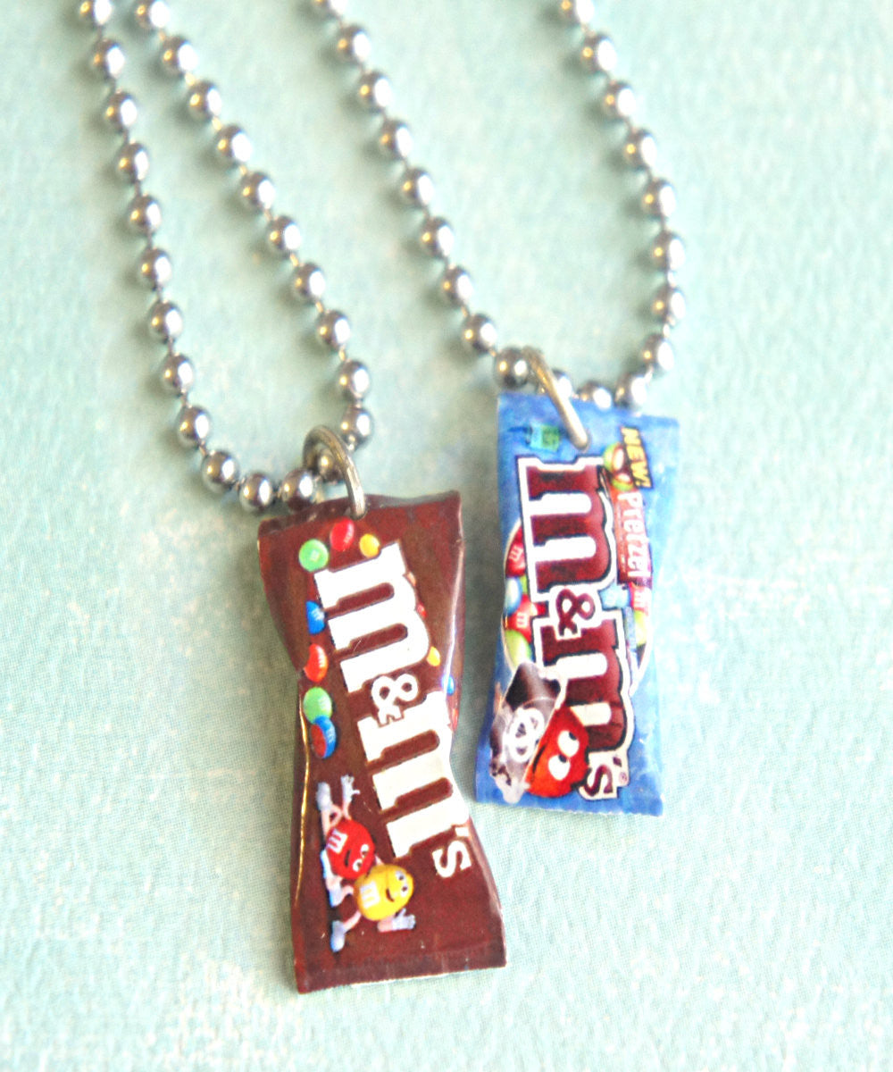 M&m's Candy Bag Necklace - Jillicious charms and accessories