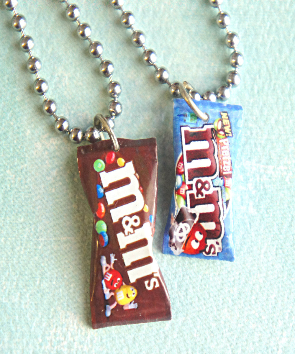M&m's Candy Bag Necklace - Jillicious charms and accessories - 4