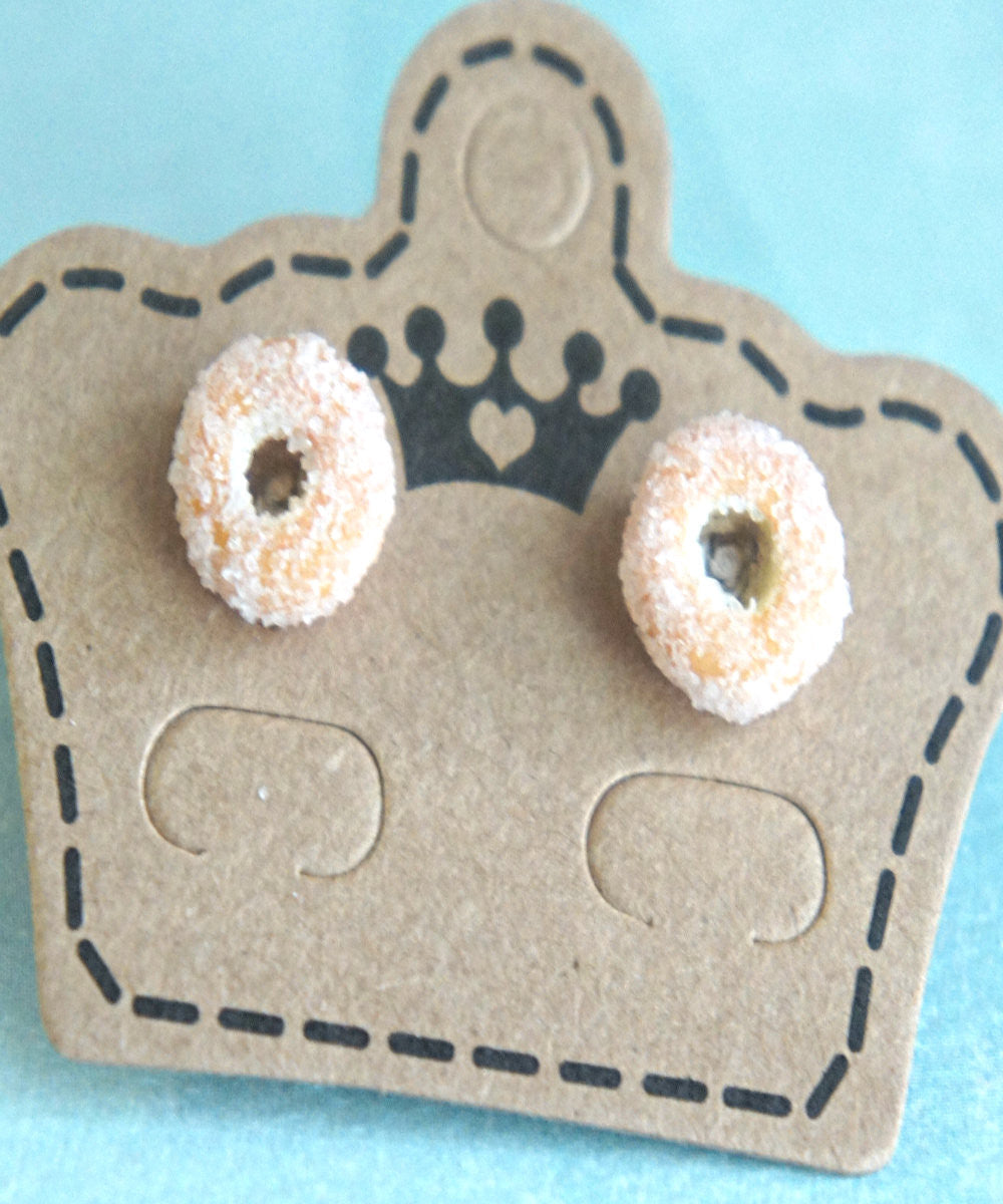 Sugar Donuts Stud Earrings - Jillicious charms and accessories - 4