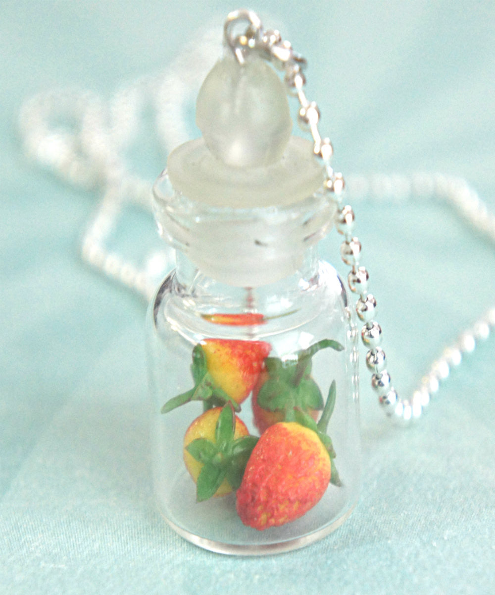 Strawberries in a Jar Necklace - Jillicious charms and accessories - 3