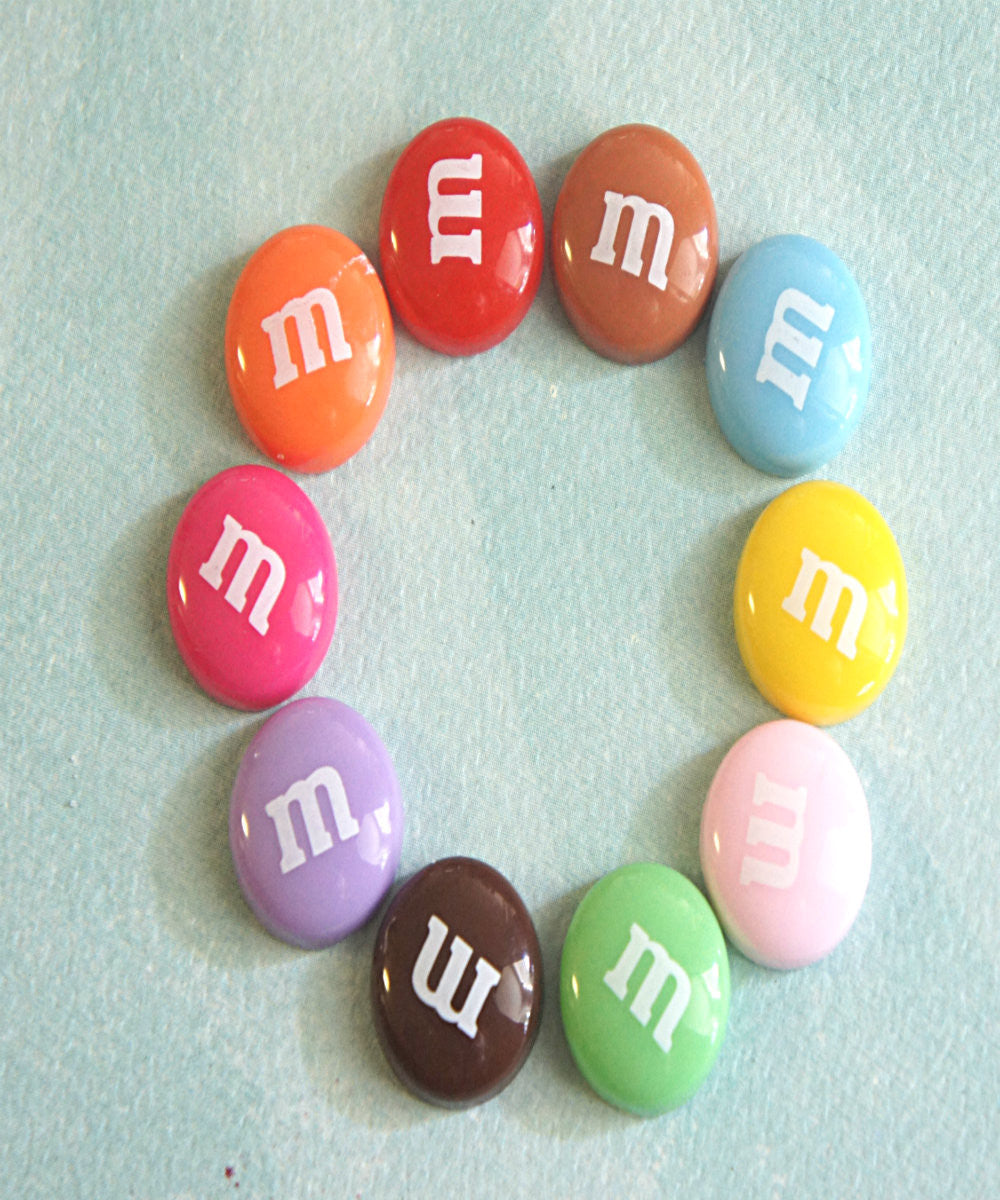 M&m's Candy Stud Earrings - Jillicious charms and accessories - 4