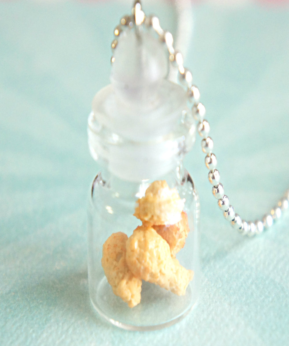 fried chicken in a jar necklace - Jillicious charms and accessories