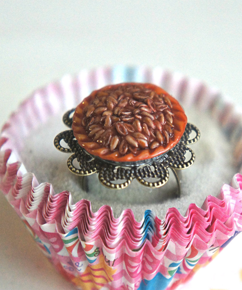 Pecan Pie Ring - Jillicious charms and accessories