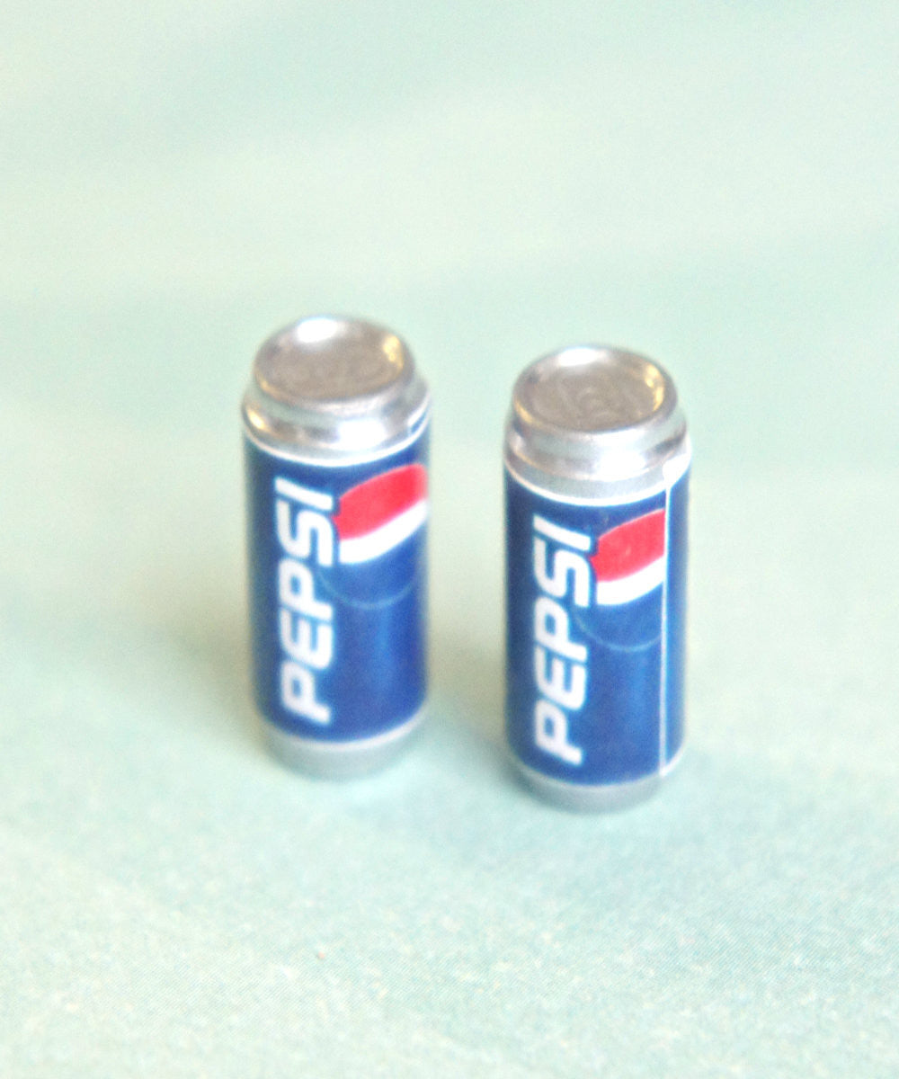 Pepsi Soda Can Earrings - Jillicious charms and accessories - 2