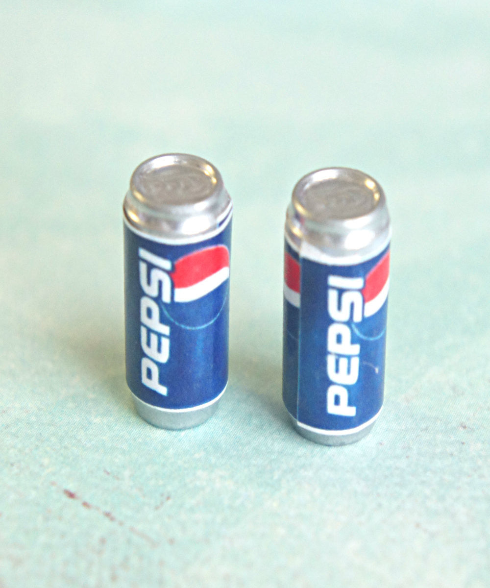 Pepsi Soda Can Earrings - Jillicious charms and accessories - 1