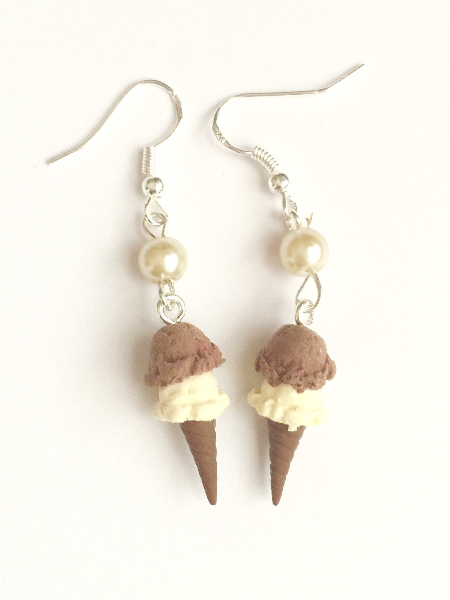 ice cream cone earrings - Jillicious charms and accessories - 4