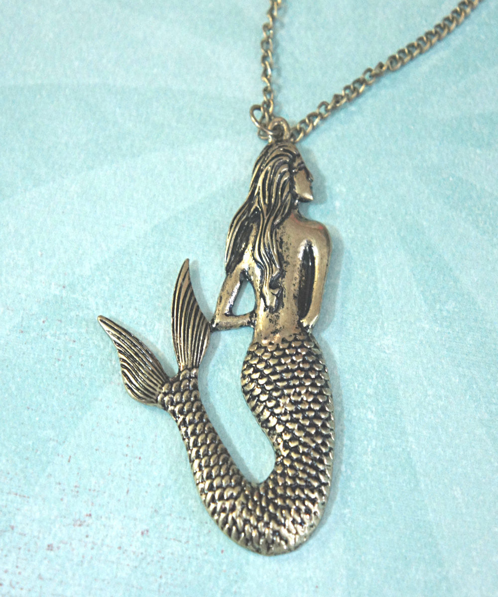 Mermaid Necklace - Jillicious charms and accessories