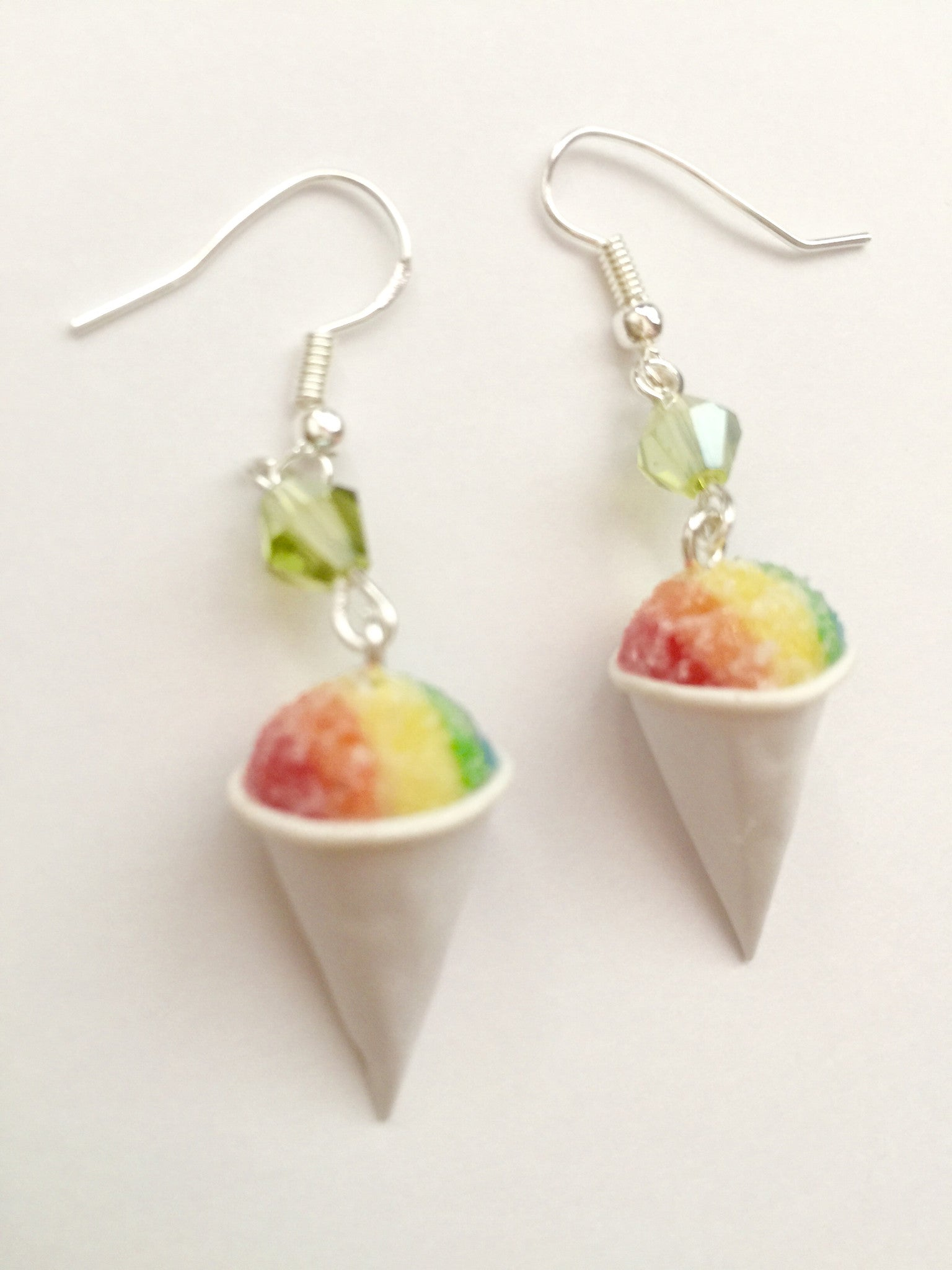 Snow Cone Dangle Earrings - Jillicious charms and accessories - 3