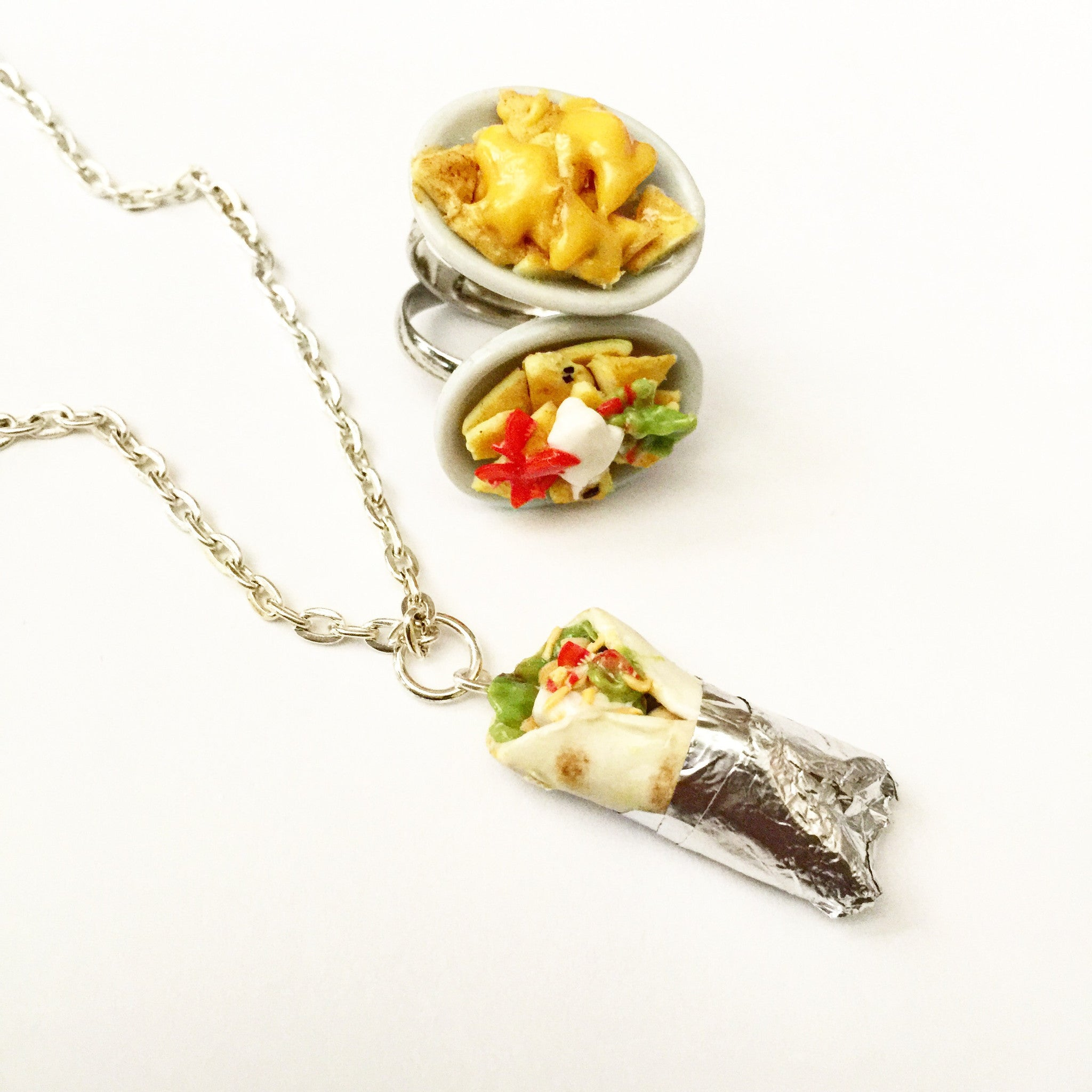Burrito Necklace - Jillicious charms and accessories
