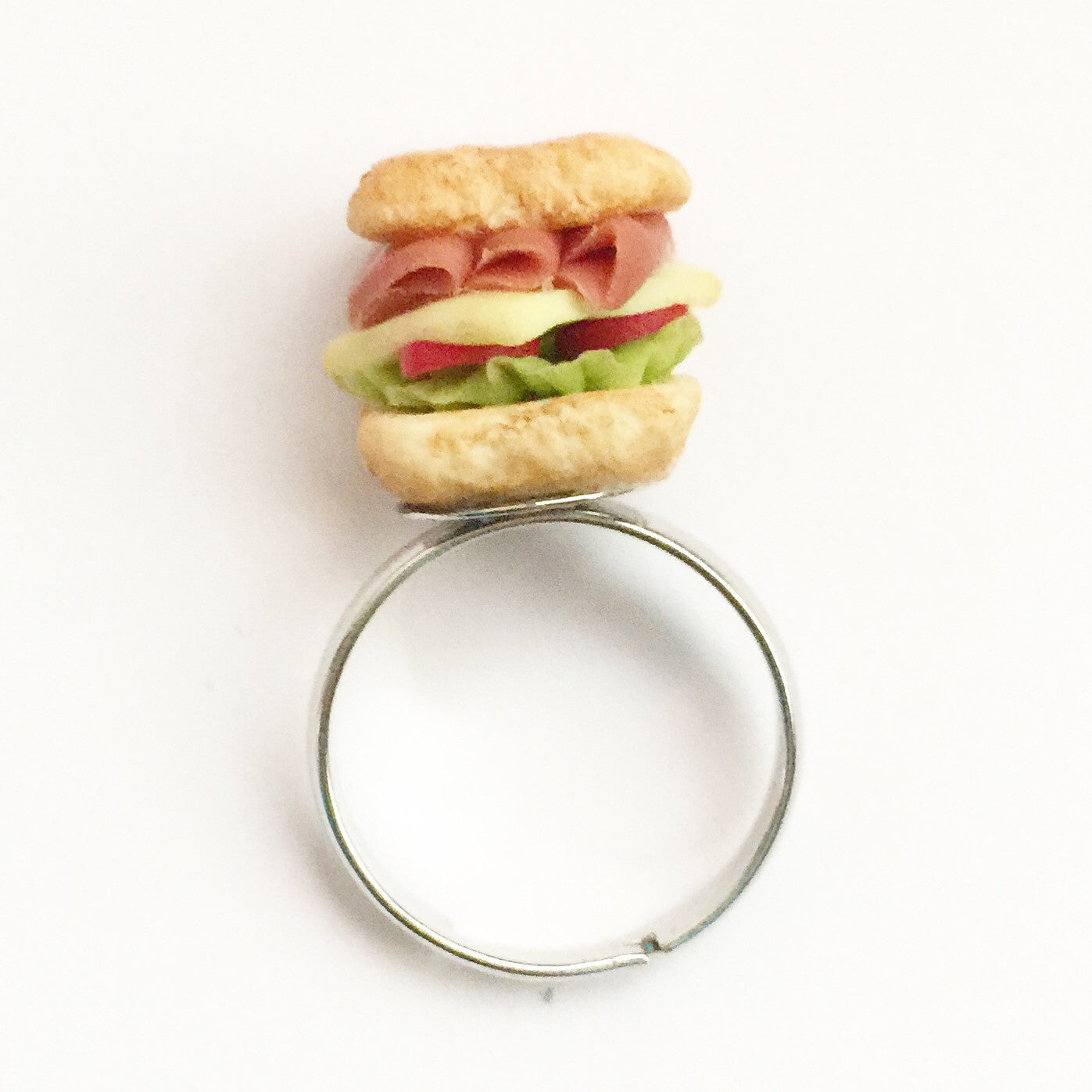 club sandwich ring - Jillicious charms and accessories - 4