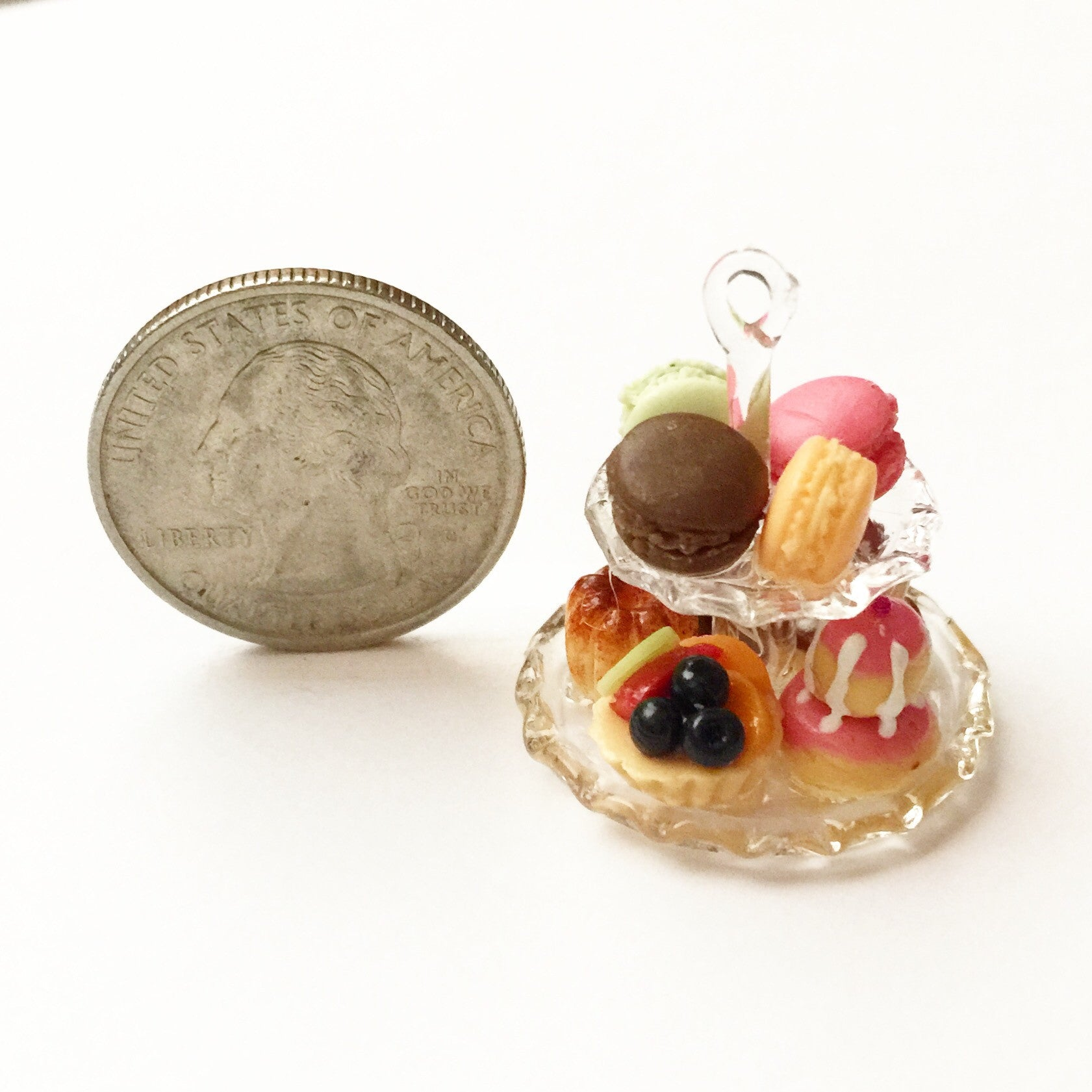 french pastries necklace - Jillicious charms and accessories - 5