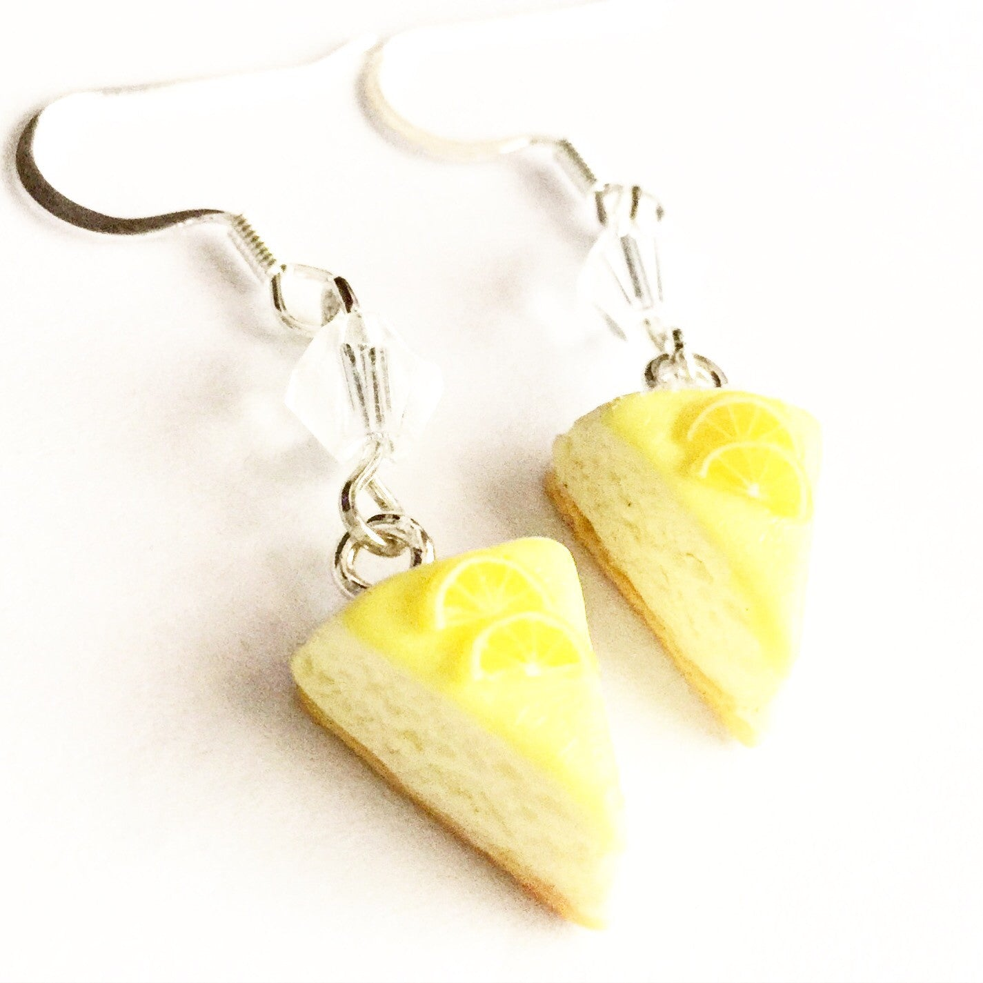 Lemon Cheesecake Dangle Earrings - Jillicious charms and accessories