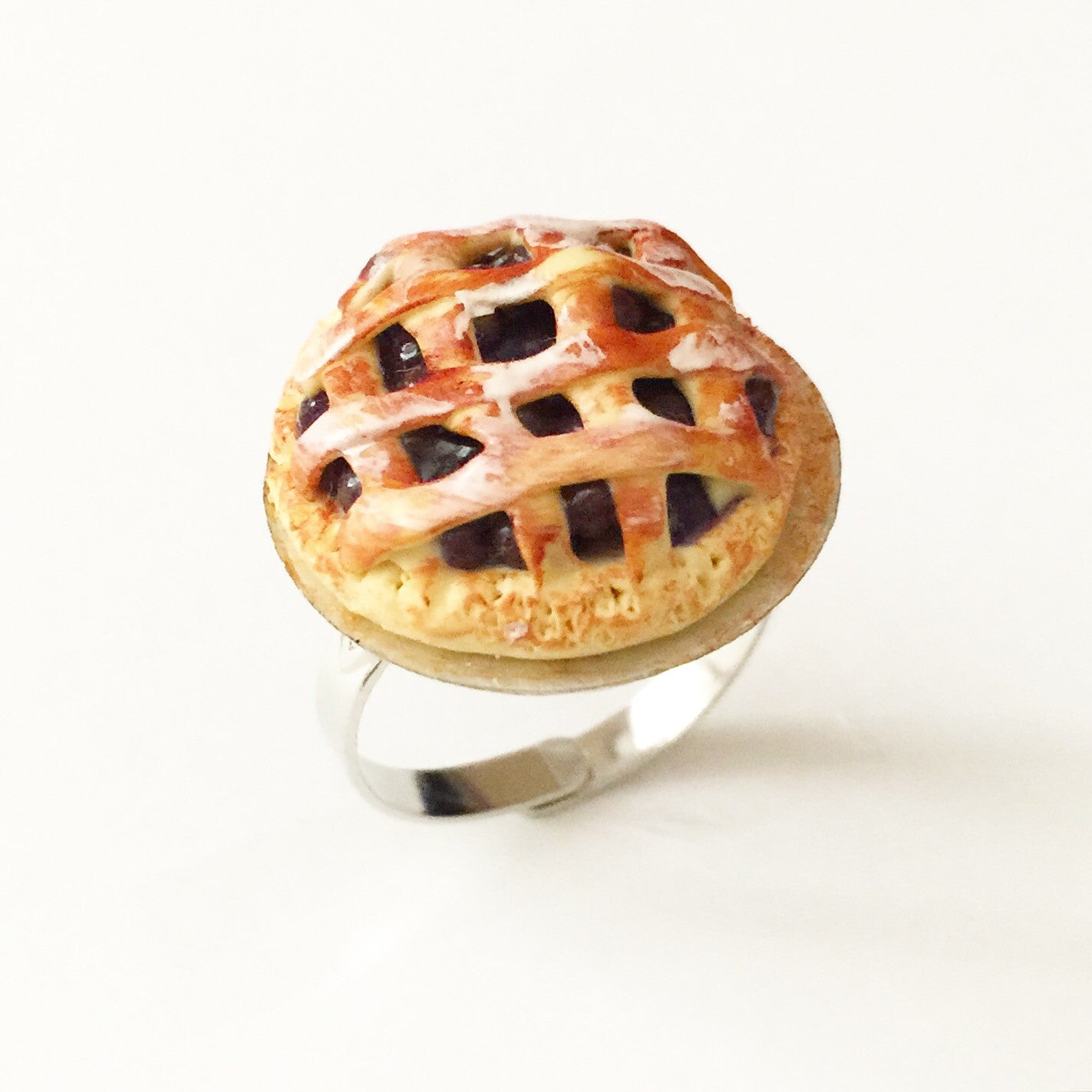 Blueberry Pie Ring - Jillicious charms and accessories - 3