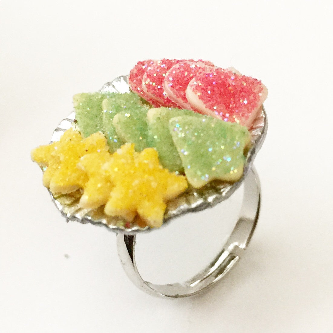 christmas cookies ring - Jillicious charms and accessories
