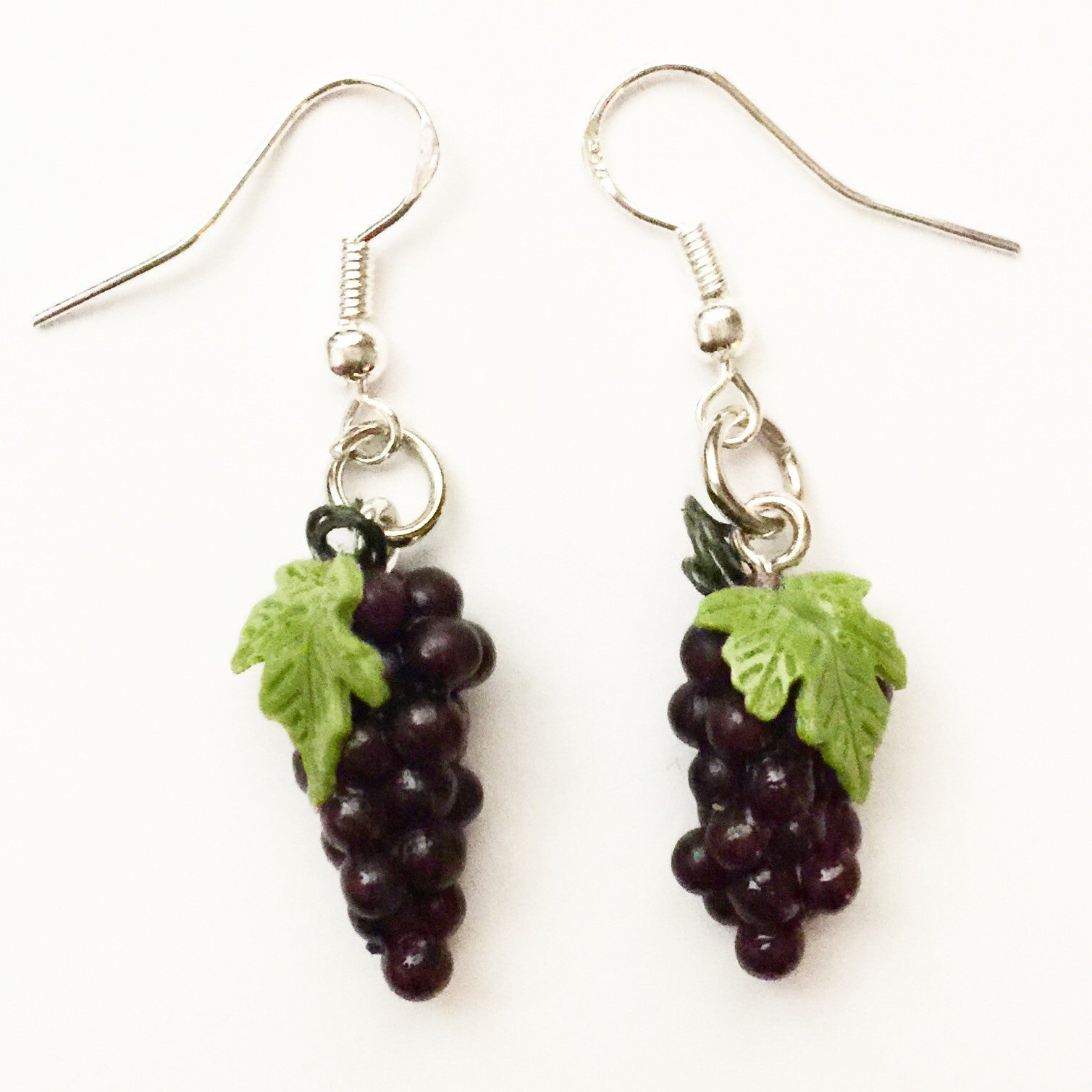 grapes earrings - Jillicious charms and accessories