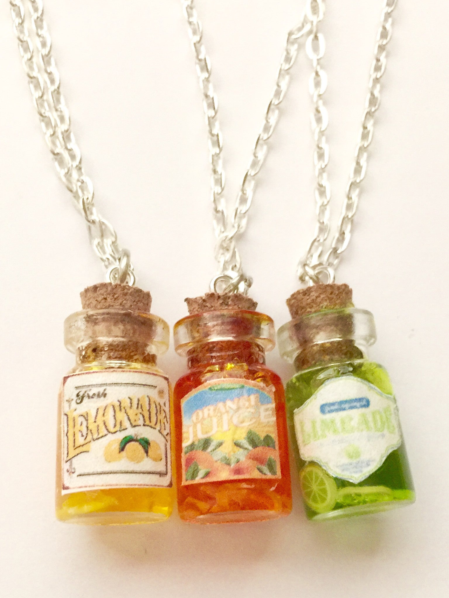 fruit juice necklace - Jillicious charms and accessories - 2