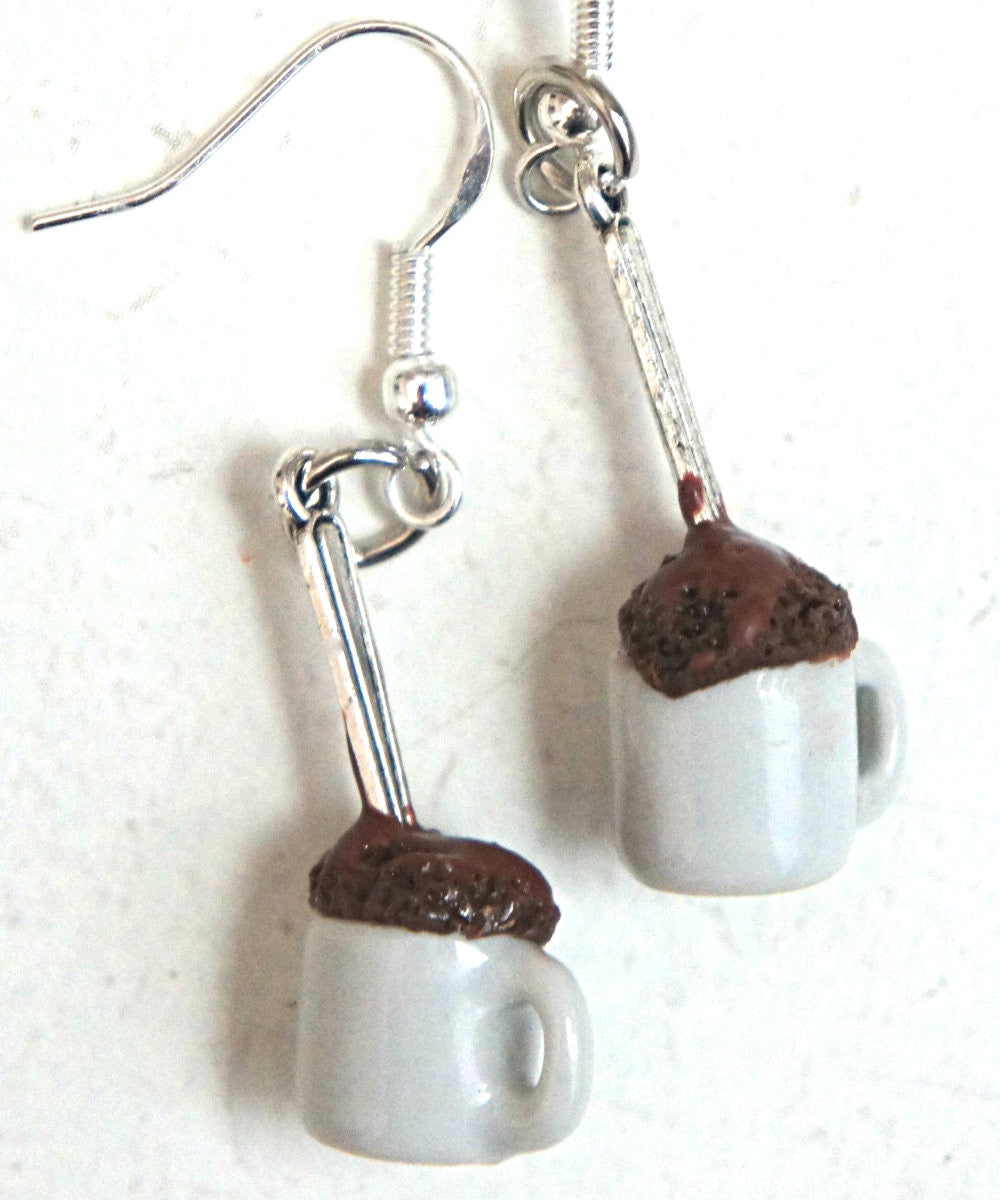 Mug Cake Dangle Earrings - Jillicious charms and accessories