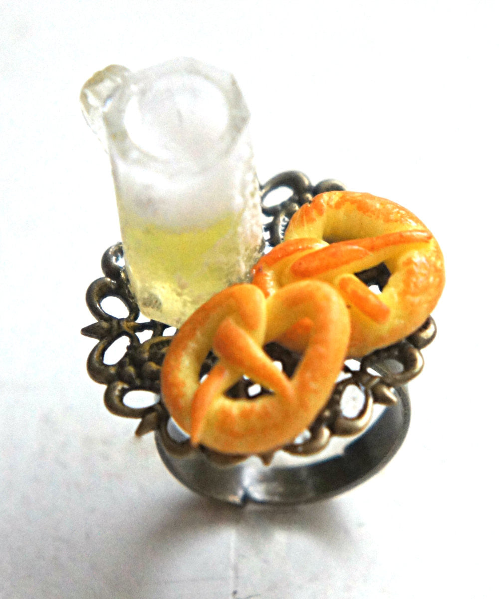 Pretzels and Beer Ring - Jillicious charms and accessories - 2