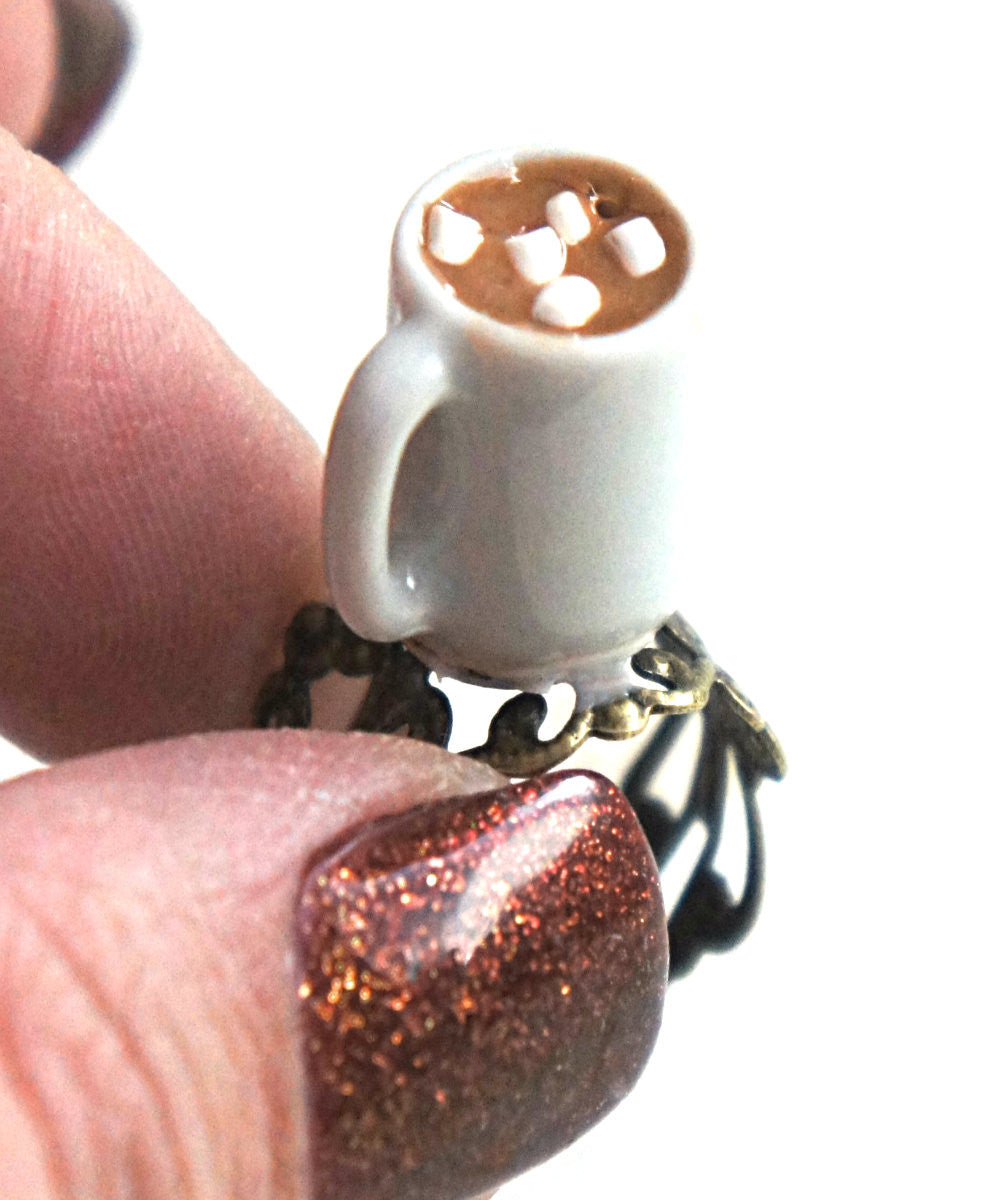 Hot Chocolate Ring - Jillicious charms and accessories - 3
