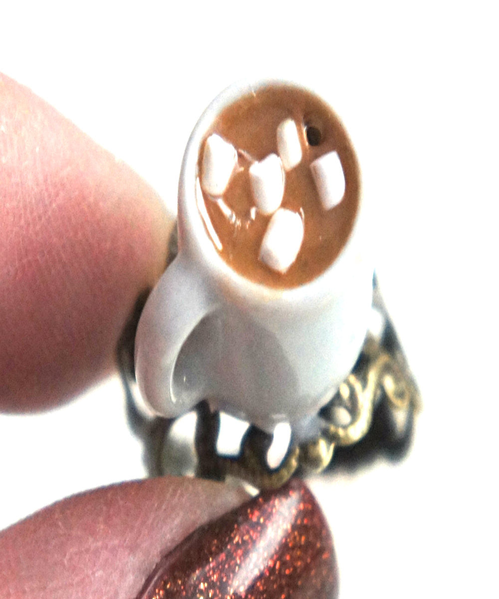 Hot Chocolate Ring - Jillicious charms and accessories - 2