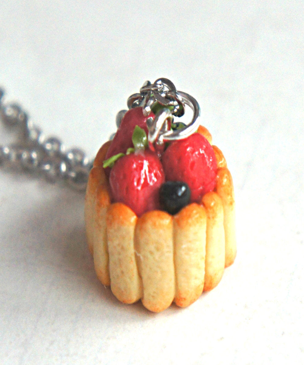 Ladyfinger Cake Necklace - Jillicious charms and accessories - 4