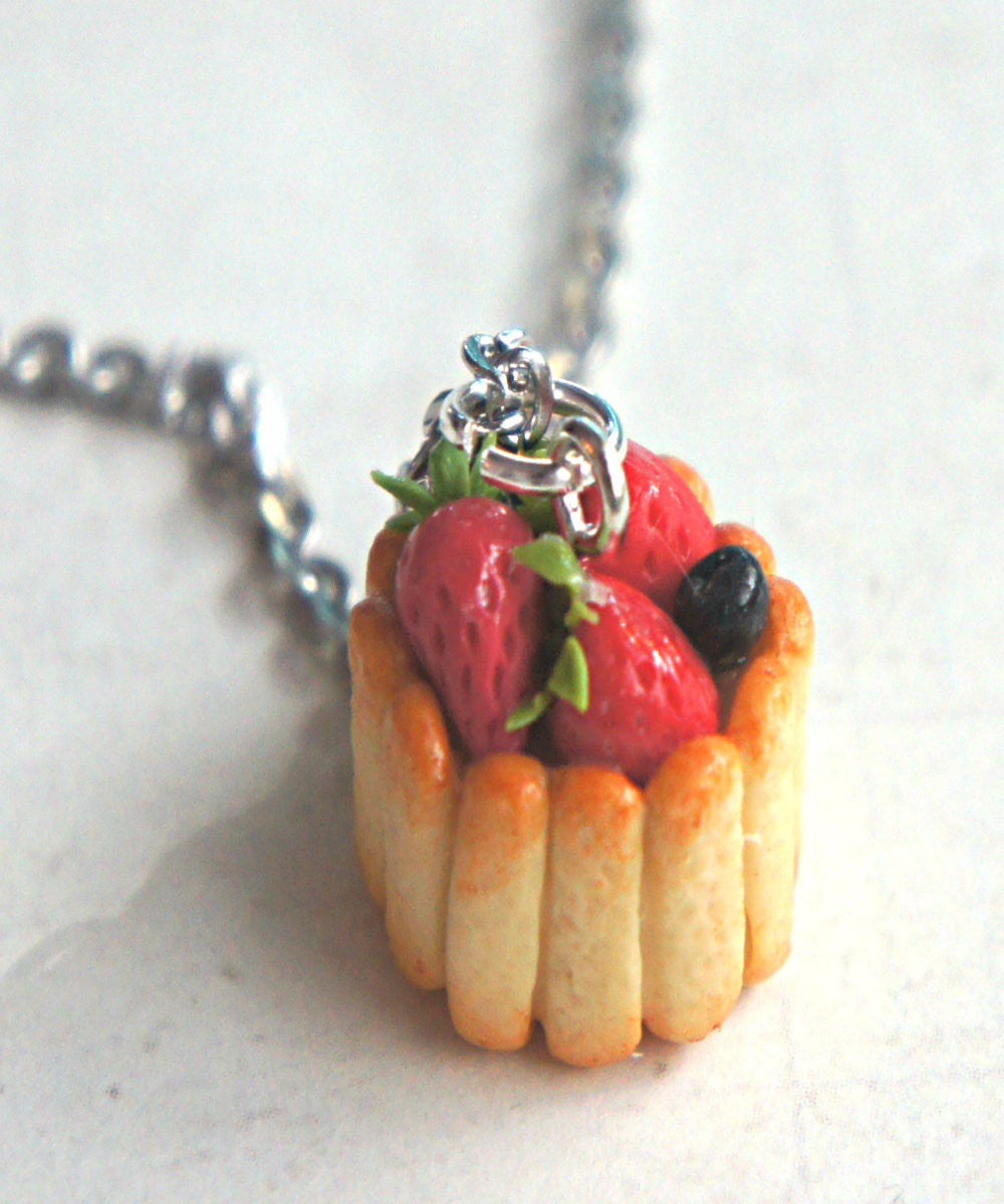 Ladyfinger Cake Necklace - Jillicious charms and accessories - 3