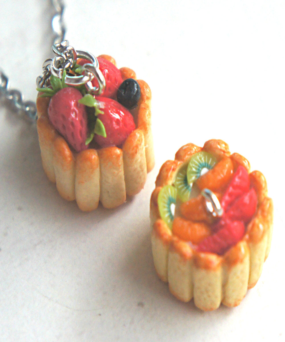 Ladyfinger Cake Necklace - Jillicious charms and accessories - 2