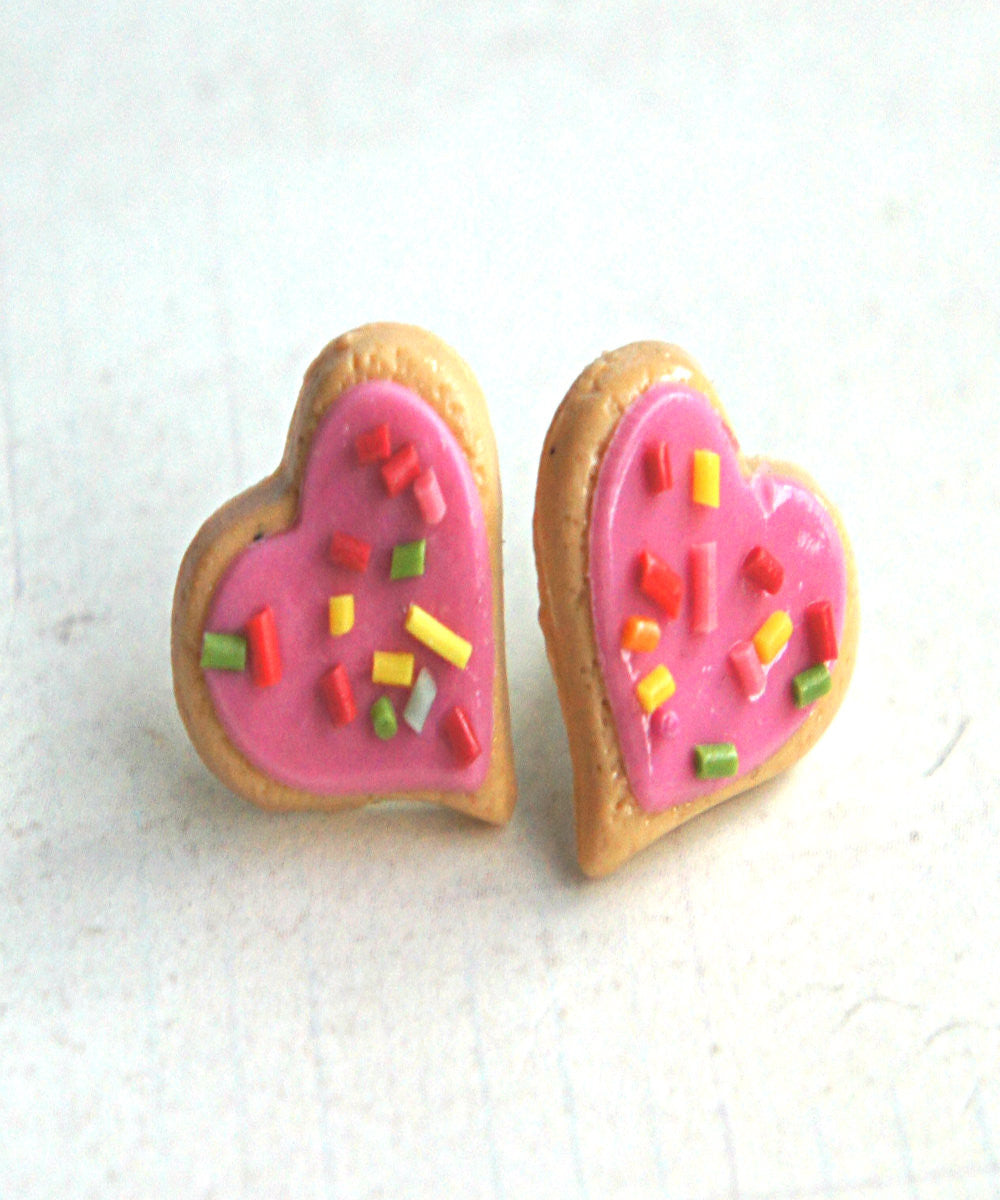 Heart Sprinkles Sugar Cookies Earrings - Jillicious charms and accessories - 4